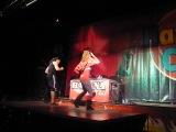 мастер-класс хип-хоп в сальсе от Seo Fernandez & Alessia Cornacchia